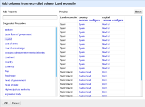 openrefine reconciling add columns from reconciled values